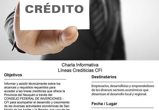 CHARLA INFORMATIVA CREDITOS DEL CFI