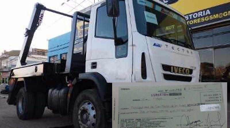 Nuevo Camion Volquetero