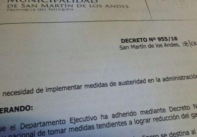 LA INTENDENTE BRUNILDA REBOLLEDO RESTRINGIÓ EL USO DE HORAS EXTRAS