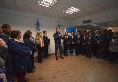 Se inauguró la remodelación de la farmacia y delegación del ISSN