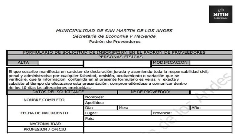 SE TRABAJA EN LA ACTUALIZACIÓN DEL PADRON DE PROVEEDORES DEL MUNICIPIO